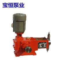 JW柱塞计量泵